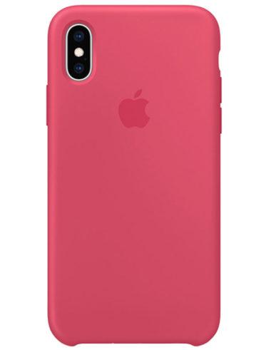Чехол iPhone XS Max Silicone Case Hibiscus (Оригинал)