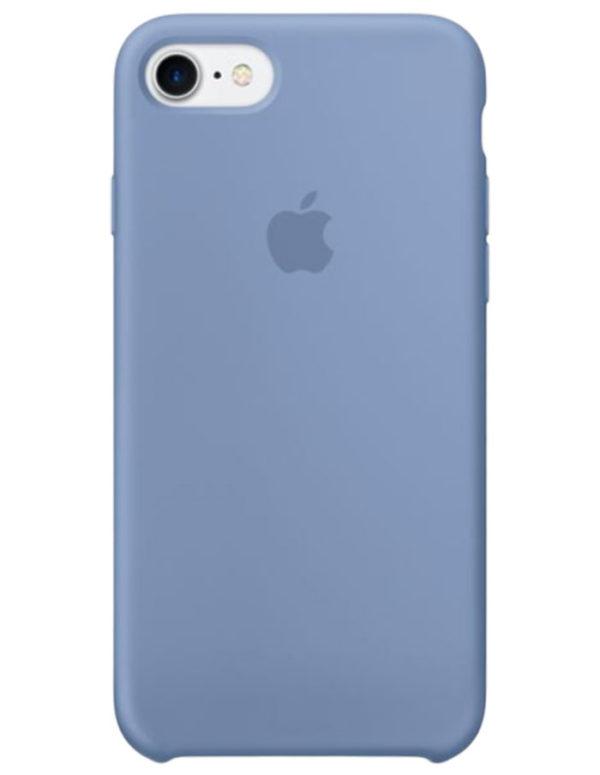 Чехол iPhone 8/7 Silicone Case Azure (Оригинал)