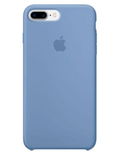 Чехол iPhone 8/7 Plus Silicone Case Azure (Оригинал)