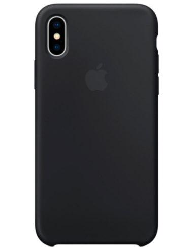 Чехлы iPhone X Силикон (Ориг)