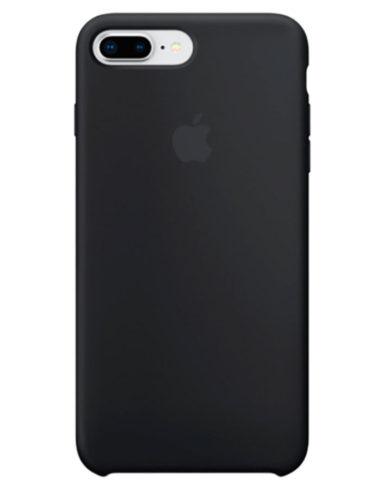 Чехол iPhone 8/7 Plus Silicone Case Black (Оригинал)