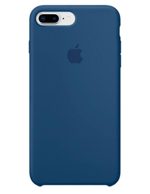 Чехол iPhone 8/7 Plus Silicone Case Blue Cobalt (Оригинал)