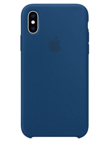 Чехол iPhone XS Silicone Case Blue Horizon (Оригинал)