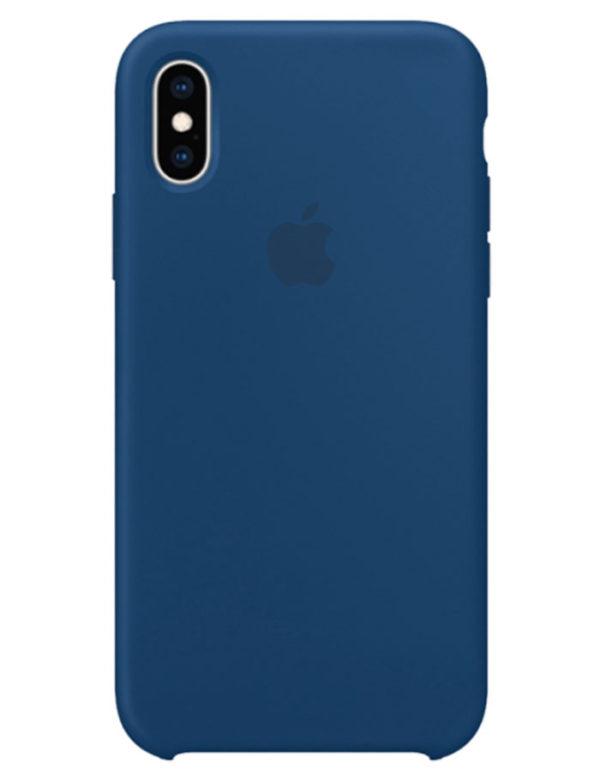 Чехол iPhone XS Max Silicone Case Blue Horizon (Оригинал)
