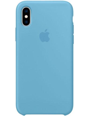 Чехол iPhone XS Silicone Case Cornflower (Оригинал)