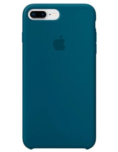 Чехол iPhone 8/7 Plus Silicone Case Cosmos Blue (Оригинал)