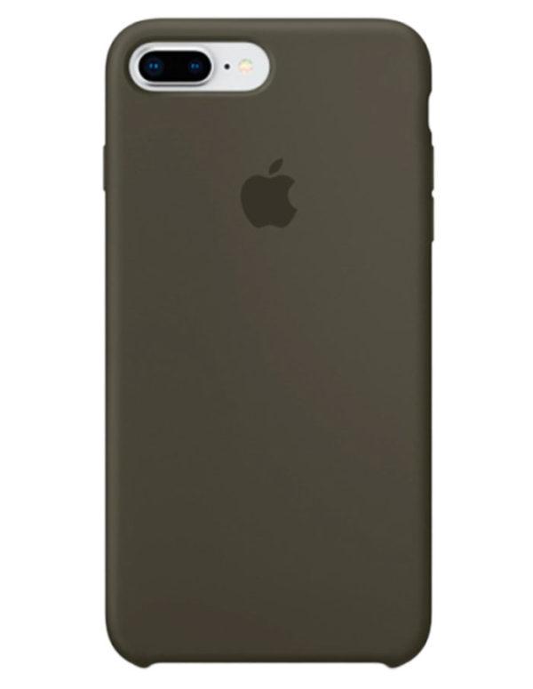 Чехол iPhone 8/7 Plus Silicone Case Dark Olive (Оригинал)