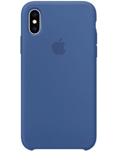 Чехол iPhone XS Silicone Case Delft Blue (Оригинал)
