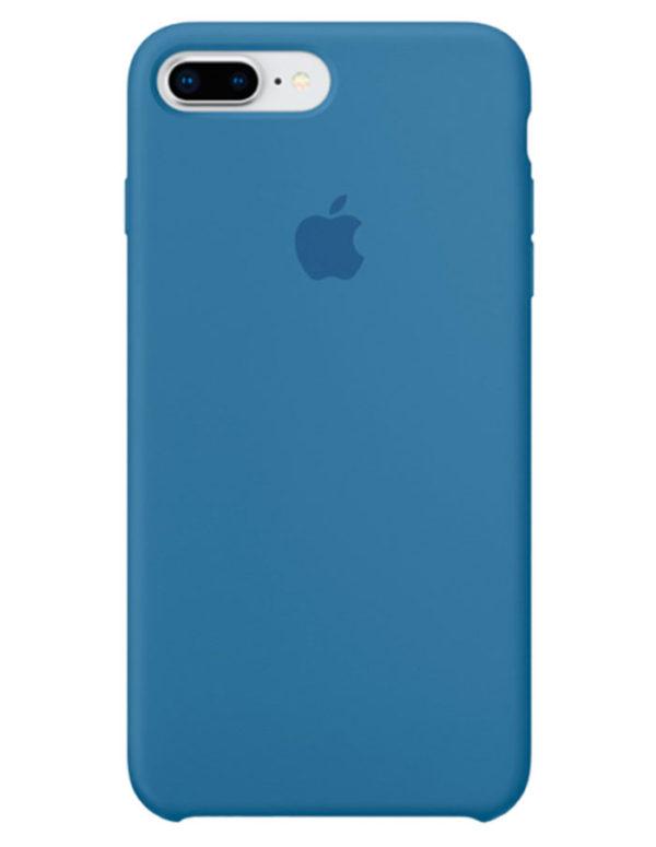 Чехол iPhone 8/7 Plus Silicone Case Denim Blue (Оригинал)