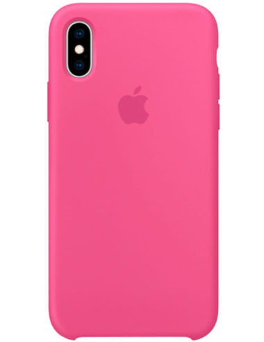 Чехол iPhone XS Silicone Case Dragon Fruit (Оригинал)