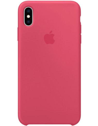 Чехол iPhone XS Silicone Case Hibiscus (Оригинал)