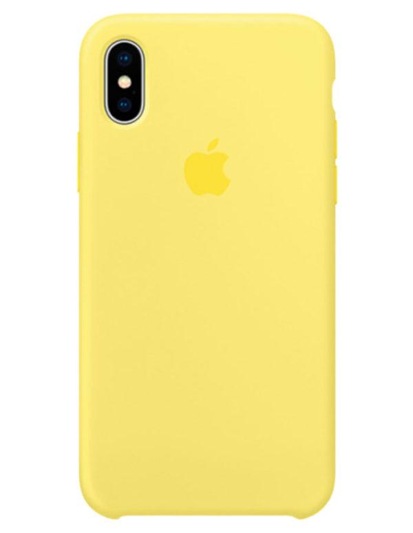 Чехол iPhone X Silicone Case Lemonade (Оригинал)