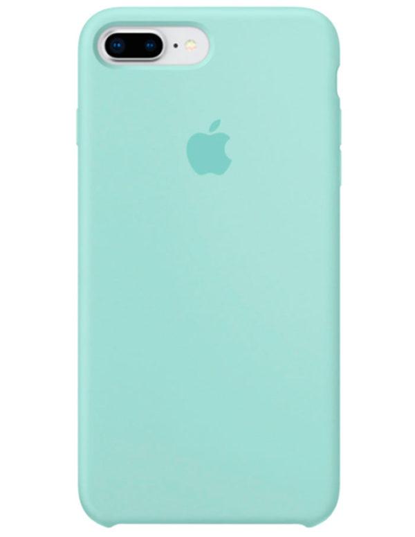 Чехол iPhone 8/7 Plus Silicone Case Marine Green (Оригинал)