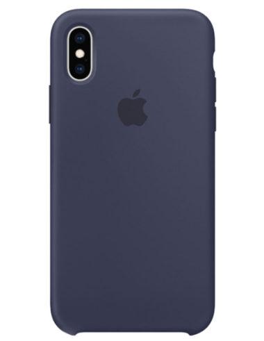 Чехол iPhone XR Silicone Case Midnight Blue (Оригинал)