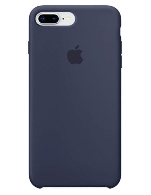 Чехол iPhone 8/7 Plus Silicone Case Midnight Blue (Оригинал)