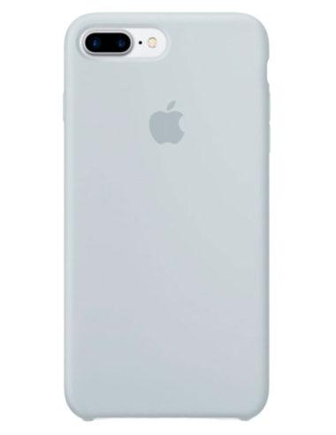 Чехол iPhone 8/7 Plus Silicone Case Mist Blue (Оригинал)