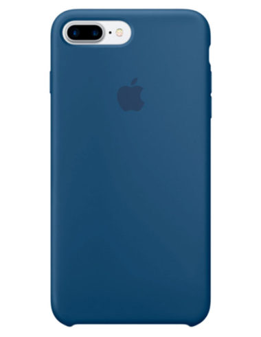 Чехол iPhone 8/7 Plus Silicone Case Ocean Blue (Оригинал)