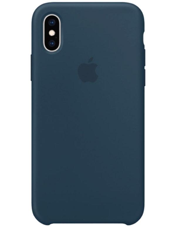 Чехол iPhone XS Max Silicone Case Pacific Green (Оригинал)