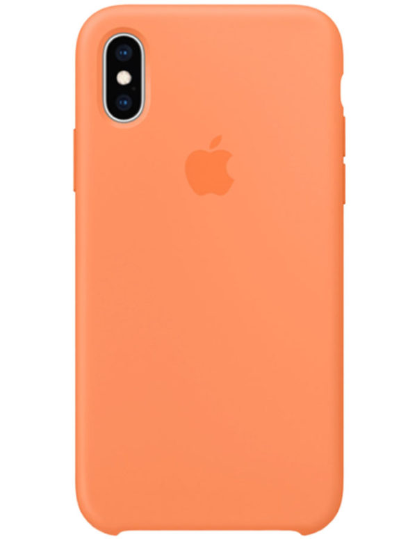 Чехол iPhone XS Max Silicone Case Papay (Оригинал)