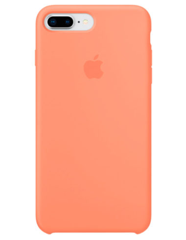 Чехол iPhone 8/7 Plus Silicone Case Peach (Оригинал)