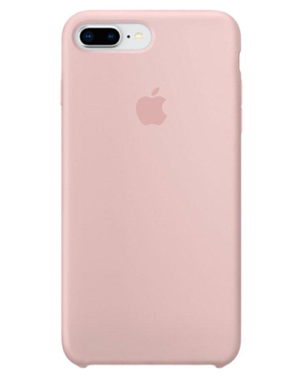 Чехол iPhone 8/7 Plus Silicone Case Pink Sand (Оригинал)