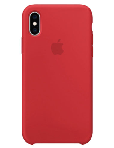 Чехол iPhone XS Max Silicone Case Red Product (Оригинал)