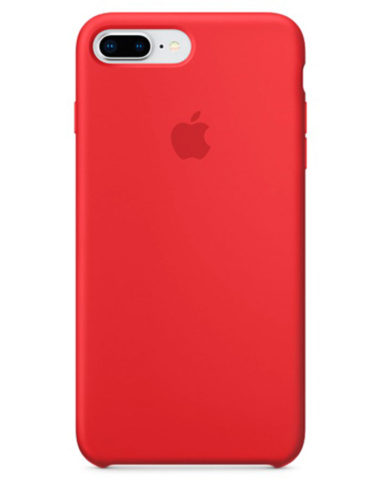 Чехол iPhone 8/7 Plus Silicone Case Red Product (Оригинал)