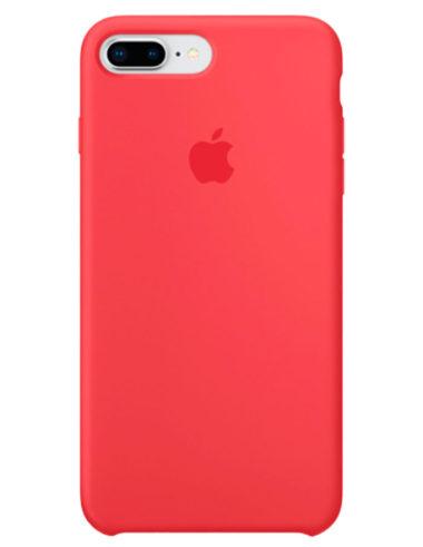 Чехол iPhone 8/7 Plus Silicone Case Red Raspberry (Оригинал)