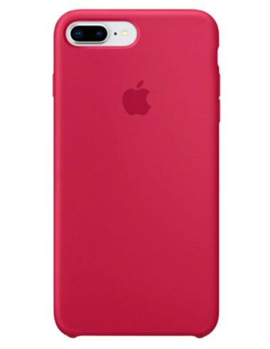Чехол iPhone 8/7 Plus Silicone Case Rose Red (Оригинал)