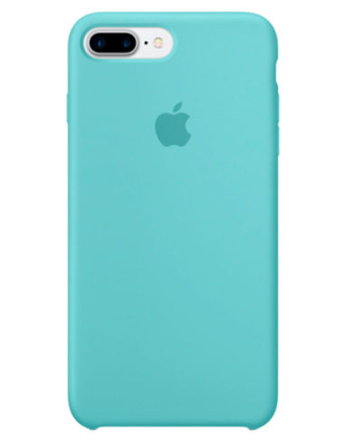 Чехол iPhone 8/7 Plus Silicone Case Sea Blue (Оригинал)