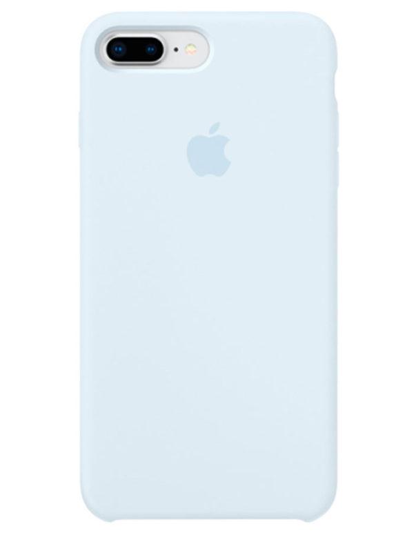 Чехол iPhone 8/7 Plus Silicone Case Sky Blue (Оригинал)