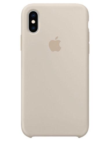Чехол iPhone XS Max Silicone Case Stone (Оригинал)