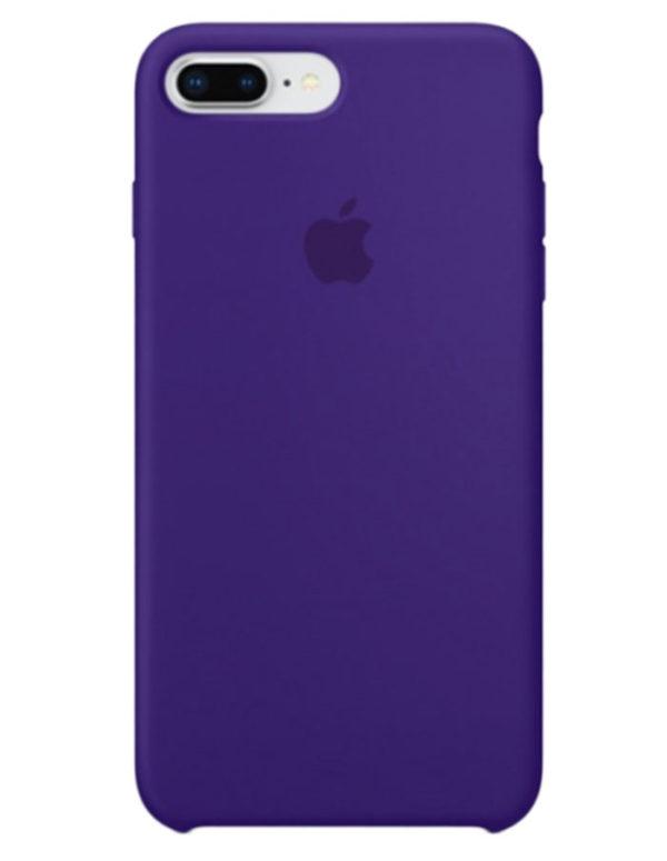 Чехол iPhone 8/7 Plus Silicone Case Ultra Violet (Оригинал)