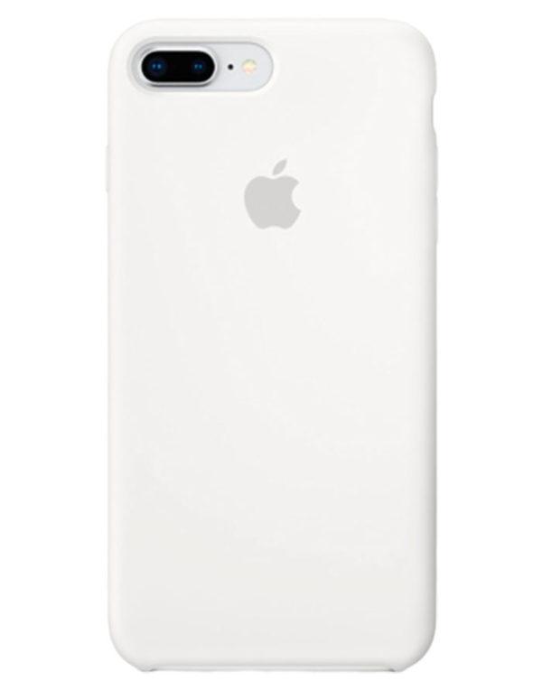 Чехол iPhone 8/7 Plus Silicone Case White (Оригинал)