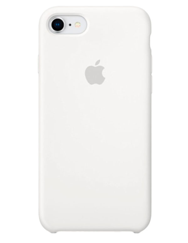 Чехол iPhone 8/7 Silicone Case White (Оригинал)