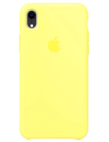 Чехлы iPhone XR Силикон (Ориг)