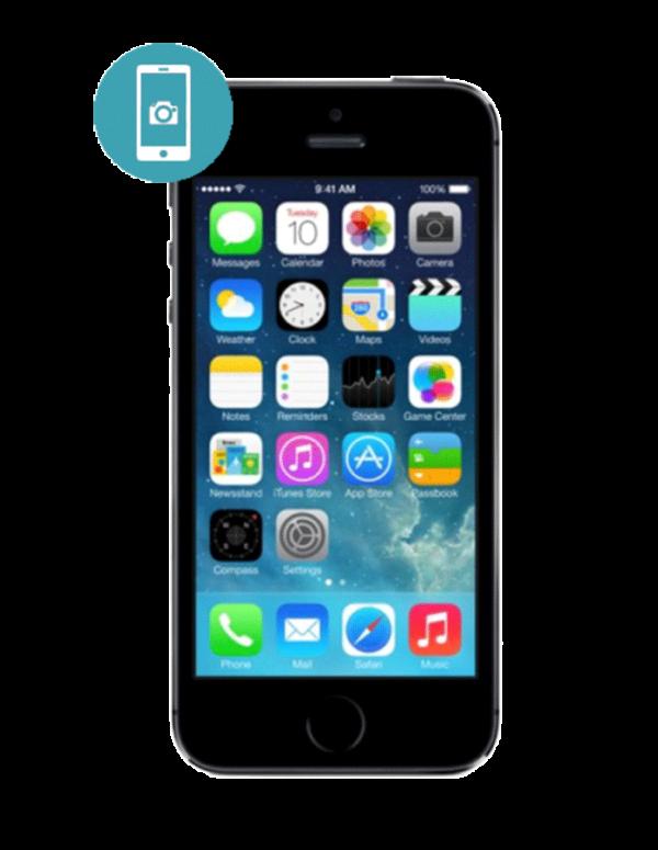 Замена стекла камеры iPhone 5S