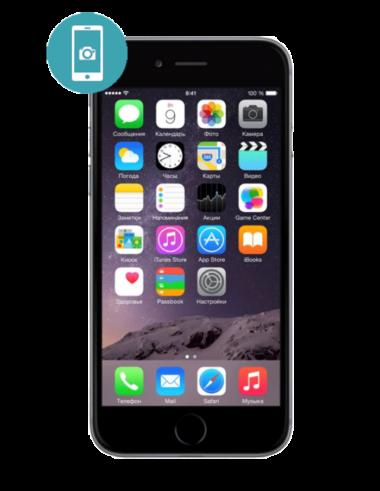 Замена стекла камеры iPhone 6