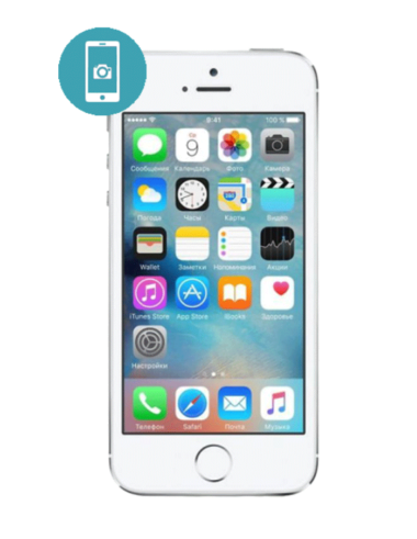 Замена стекла камеры iPhone SE
