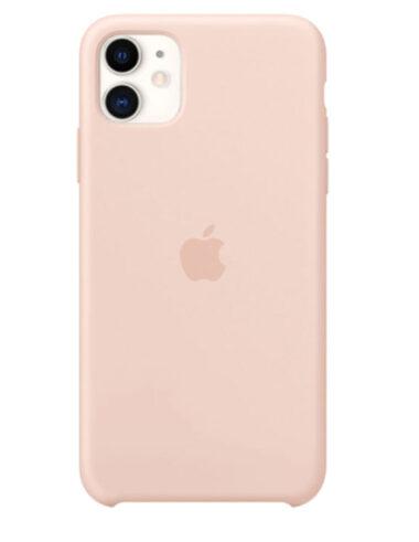Чехол iPhone 11 Silicone Case Pink Sand (Оригинал)