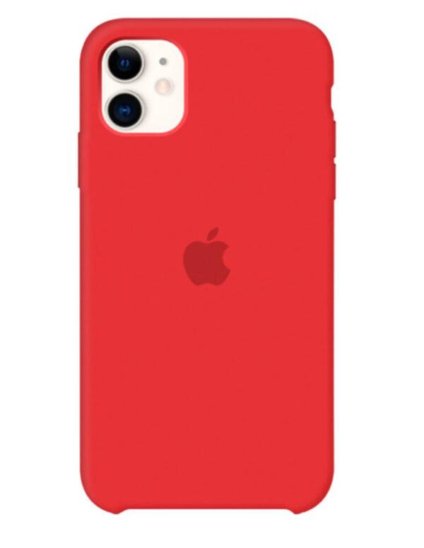 Чехол iPhone 11 Silicone Case Red (Оригинал)