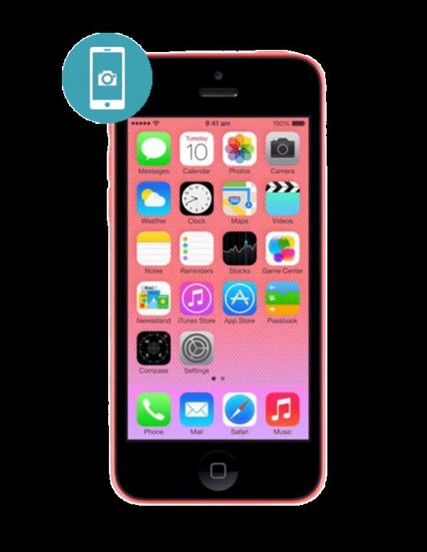 Замена камеры iPhone 5C