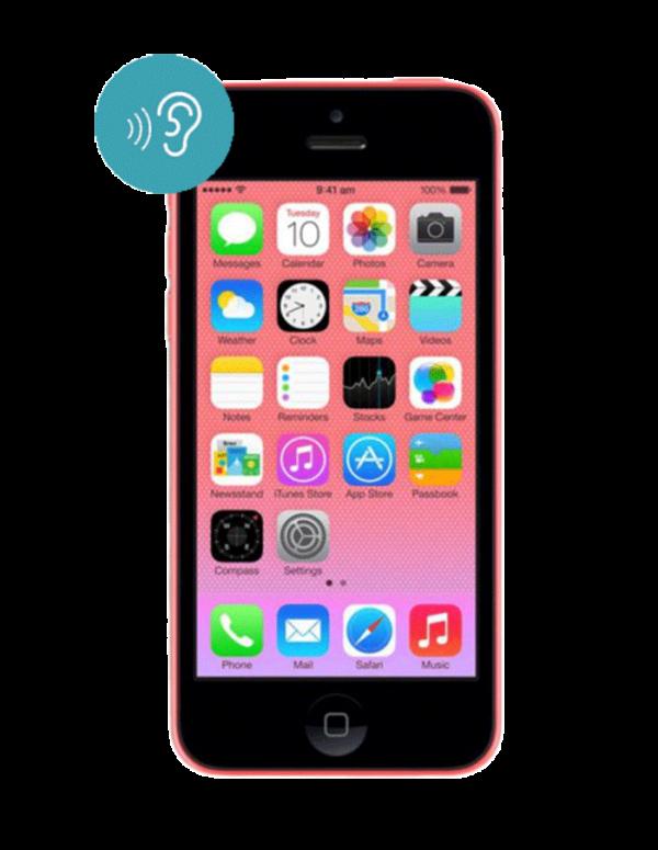 Замена сетки динамика iPhone 5C