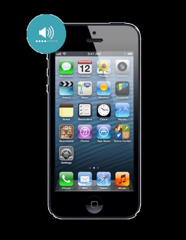 Замена динамика iPhone 5