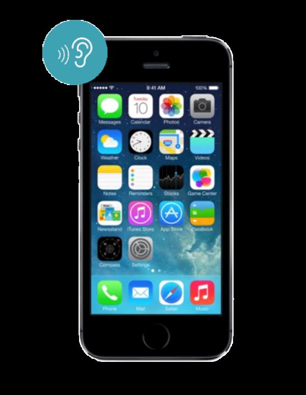 Замена сетки динамика iPhone 5S