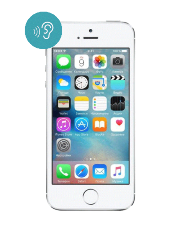 Замена сетки динамика iPhone SE