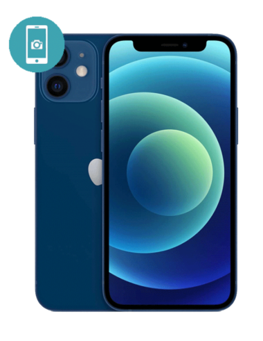 Замена стекла камеры iPhone 12mini